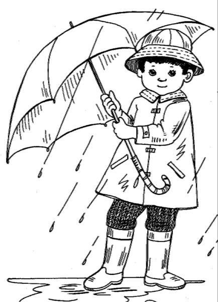 Raining Coloring Pictures Coloring Pictures Raining Raining Coloring Pictures Coloring Pages W Coloring Pages Winter Coloring Pictures Cartoon Pics