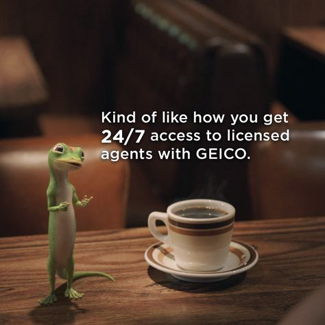 The Gecko Visits A Diner.