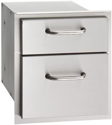 16 X 15 Double Drawer In Stainless Outdoor Kitchen Cabinets Modular Outdoor Kitchens Stainless Steel Bbq