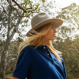 Electric Blue Akubra Rough Rider Hat Australian Made ! New Colour