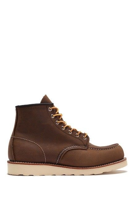 168befc839e RED WING CLASSIC MOC STYLE 8205 Leather Lace Up Ankle Work Boot 9.5 ...