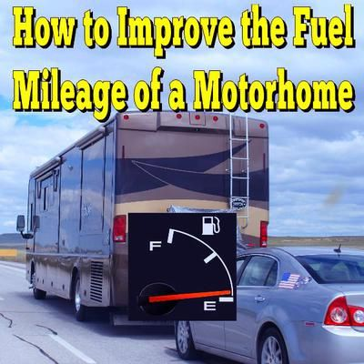 How much will my RV's mileage increase with a lighter toad vehicle