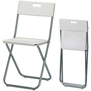 Ikea Gunde Folding Chair White Folding Chair Chair Folding