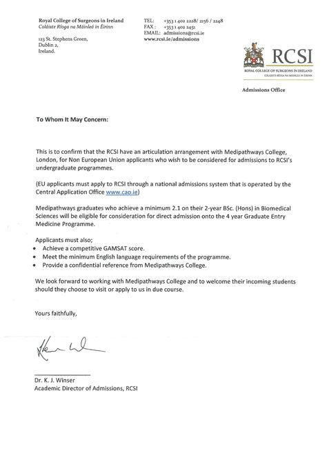 application withdrawal letter medical school Home Design Idea - to whom it may concern letter