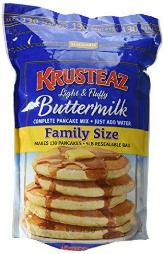Krusteaz Pancake Mix Buttermilk 5 Lb Packaging May Vary Boughtagain In 2020 Pancakes Mix Krusteaz Pancake Mix Recipes Buttermilk Pancake Mix
