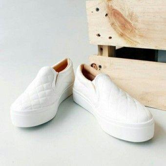 Shop Now Marlee Sepatu Kets Lu 01 Putihkualitas Memuaskan Marlee