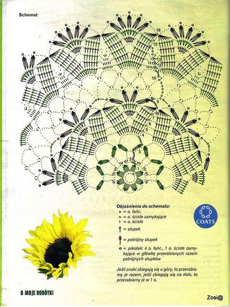 Kira scheme crochet: Scheme crochet no. 1930