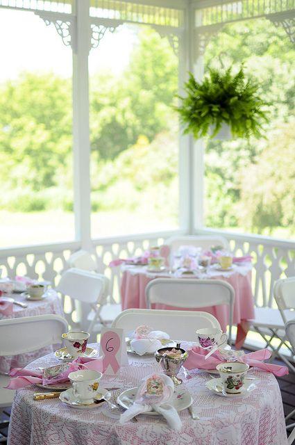 Tea Party on the Porch by Stephanie Heim