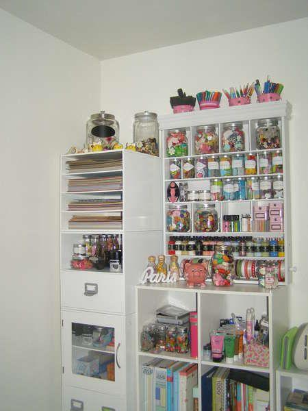 #Papercraft #Craftroom #organization