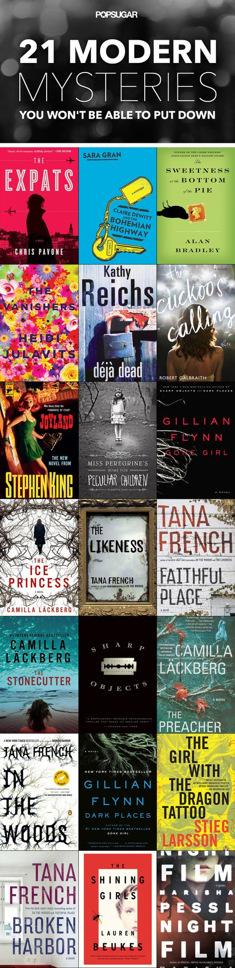 Modern mysteries, thrillers, crime dramas, and detective books!