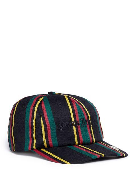 5a91056071b1f PALM ANGELS  Rastafari  regimental stripe baseball cap.  palmangels ...