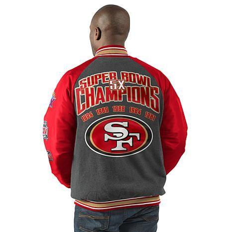 San Francisco 49ers Unisex Men Women Uniform Baseball Jacket Loose Sport Coat,Black,