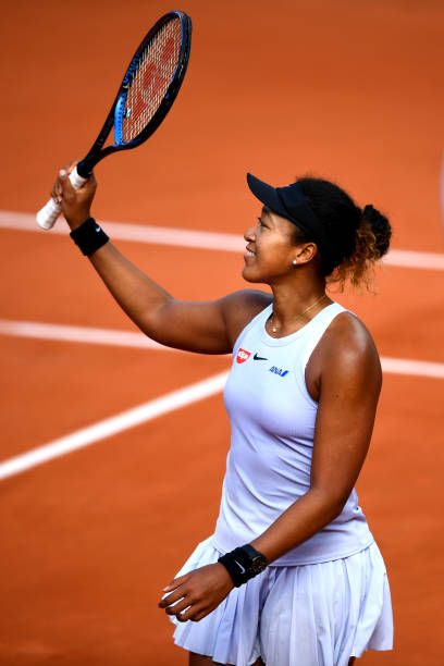 Narrow Escape Naomi Osaka French Open 2019 Tennis Outfit Nike Women Tennis Outfit Clay Court Pho Best Tennis Rackets Tennis Players Female Tennis Players