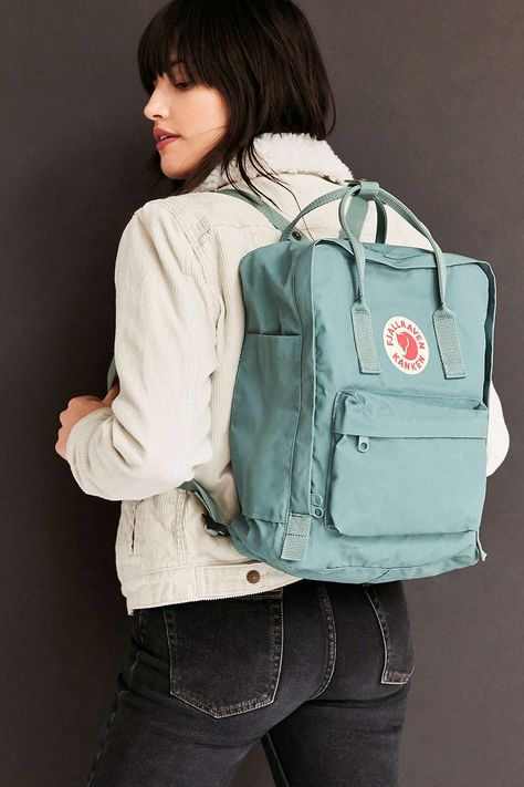 Fjallraven Kanken Backpack~ I love my Flallraven backpack and purse ! Its an awesome part of my travel bags.