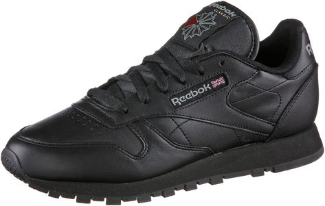 Reebok Classic Sneaker Classic Leather Damen Schwarz Grosse 42 5 Sneaker Damen Sneaker Damen Schwarz Reebok