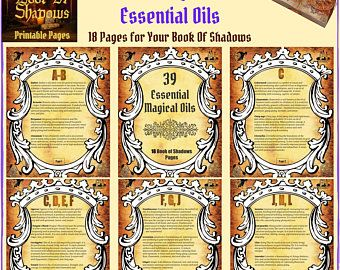 Wiccan Zodiac Essential Oil Blends Incense Recipes Etsy Zodiac Essential Oils Book Of Shadows Pdf Book Of Shadow