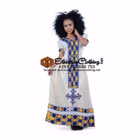 Ethiopian traditional dress  Eritrean Dress  Modern Habesha Kemis  Zuria  custom order  Any Color  3-5 weeks to deliver