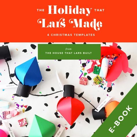 The Holiday That Lars Made E Book Template Christmas Templates
