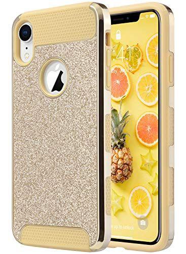 Ulak Iphone Xr Case Luxury Glitter 2 In 1 Dual Layer Sli Https Www Amazon Com Dp B07kt19fld Ref Iphone Case Fashion Glitter Phone Cases Apple Phone Case