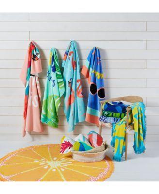 Martha Stewart Collection Round Beach Towel Reviews Bath