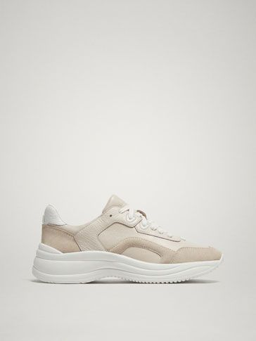 974cc9c431 Beige trainers | Casual Weekend Style (Black Leggings, Move Over ...