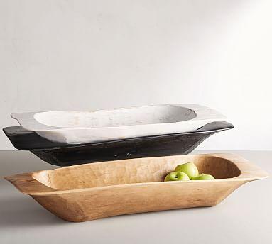 Wooden Dough Bowl Trays In 2020 Wooden Dough Bowl Dough Bowl Decor Essentials