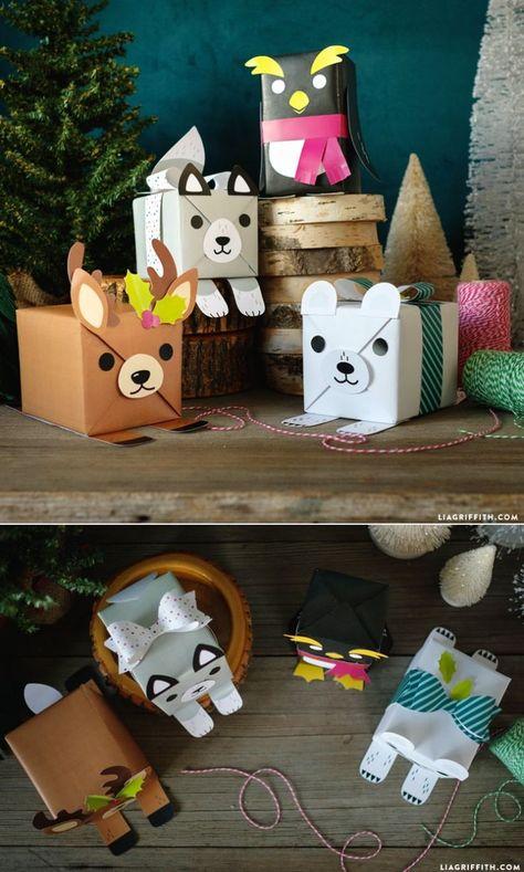 Geschenke super süß verpacken #DIYGiftwrapping www.LiaGriffith.com