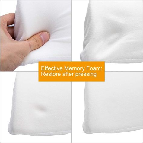 Pin on 6 in1 Slow Rebound Pressure Pillow