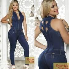 5484df64b92 Resultado de imagen para enterizos en jeans largos | Moda Casual ...