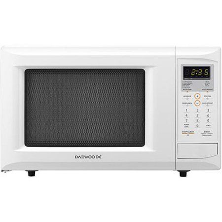 Daewoo Kor 9gdew 0 9 Cu Ft Countertop Microwave Oven White