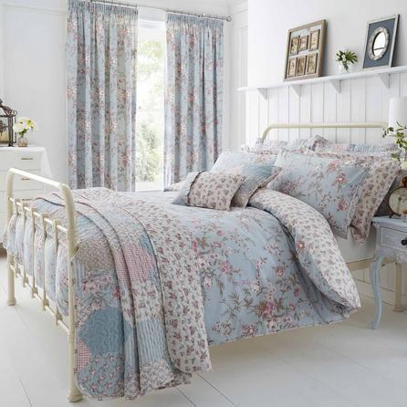 Dunelm Bethany Bedspread In Duck Egg Blue Kingsize Bed Linens Luxury Duck Egg Bed Linen Duck Egg Bedding