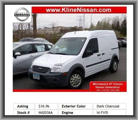 2011 Ford Transit Connect Cargo Van Xl Mini Van Total Number Of Speakers 2 Front Hip Room 50 8 4 Do Ford Transit Tire Pressure Monitoring System Mini Van