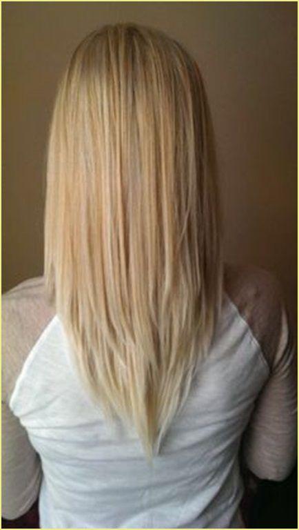 Lange haare schnitt blonde Genial Lang