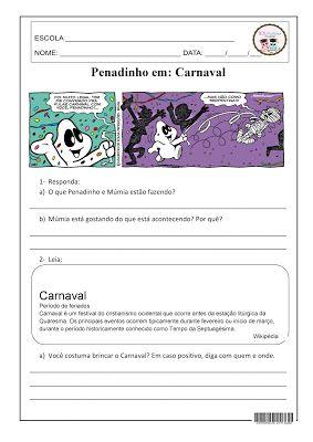 Penadinho Em Carnaval Com Imagens Termos Da Subtracao