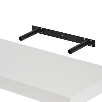 Tablette Murale Blanc Brillante Cusko Form 118 Cm Deco En