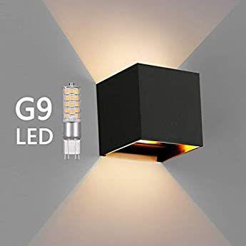 Black 12w Led Modern Wall Light With Adjustable Beam Angle Design Ip65 Waterproof Led Wall Lamp Use For Outdoor In 2020 Wall Lights Led Wall Lamp Modern Wall Lights