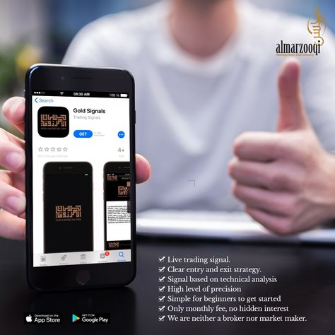 Gold Signals Mobile Application Your Best Partner On The Trade