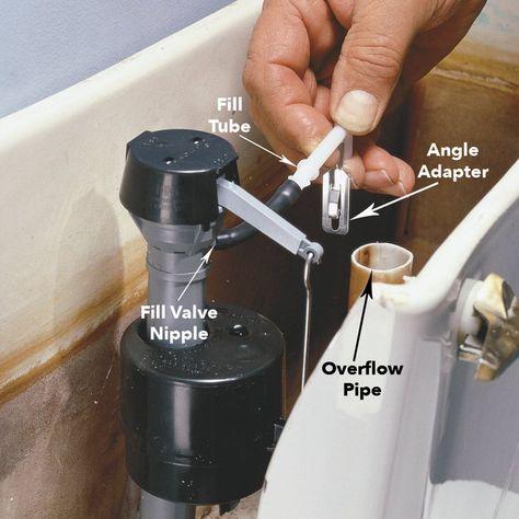 Diy Quick Fix Home Repairs Home Repairs Toilet Repair Bathroom