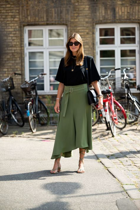 Street Style Inspiration from Copenhagen Fashion Week Spring 2021 - Coveteur: Inside Closets, Fashion, Beauty, Health, and Travel