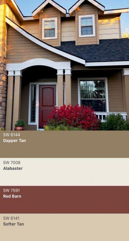 House Exterior Colors Schemes Tan 20 Super Ideas House Exterior Color Schemes Exterior House Paint Color Combinations House Paint Exterior