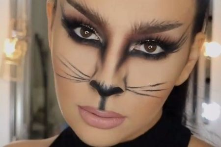 Catwoman Face Paint Electronic Wallpaper Electronic
