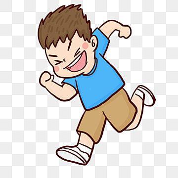 Cartoon Cute Running Little Boy Cartoon Painted Cute Png Transparent Clipart Image And Psd File For Free Download Running Cartoon Running Illustration Cartoon Clip Art