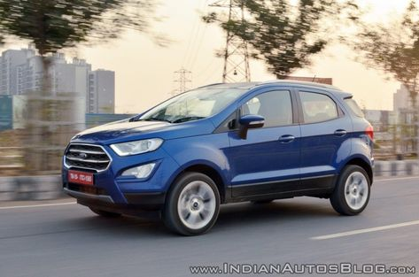 Ford Ecosport Titanium Petrol Manual Launched At Inr 10 47 Lakhs
