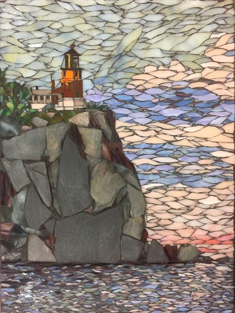 Use of Natural Stone in Landscape Mosaics | How To Mosaic
