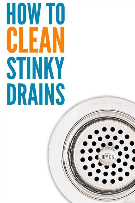 Phenomenal How To Clean Stinky Drains 3 Non Toxic Steps To Kill Odors Download Free Architecture Designs Xaembritishbridgeorg