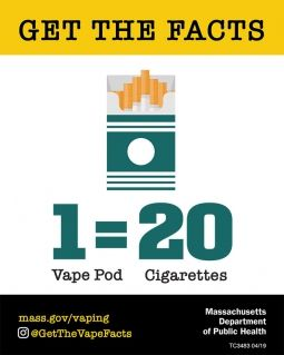 Vaping Massachusetts Health Promotion Clearinghouse Vape Vape Facts Health Promotion