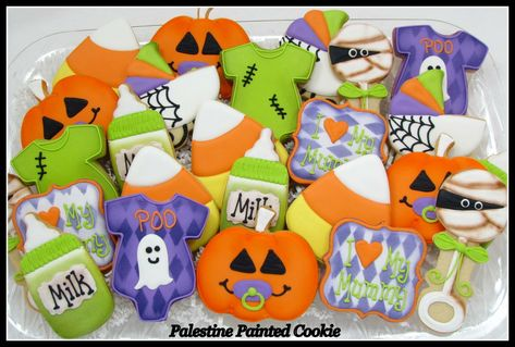 Halloween Themed Baby Shower Cookies.Pinterest Espana