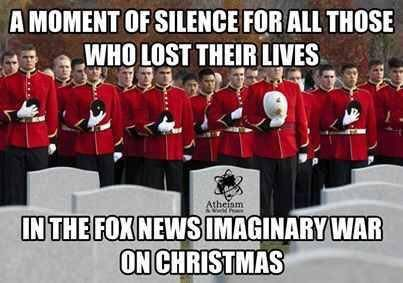 The imaginary war on Christmas   ✩ISSUES /POLITICS: FOX ~ RUSH ...