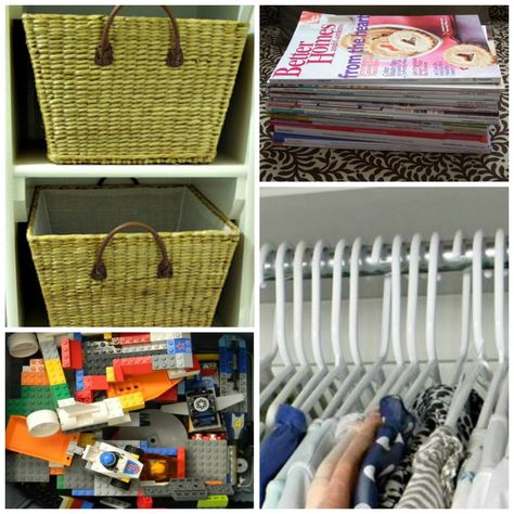 Decluttering is the next post in the Easy Everyday Organizing Series. Find out great ideas on decluttering, what you should toss and what you should hang on to.