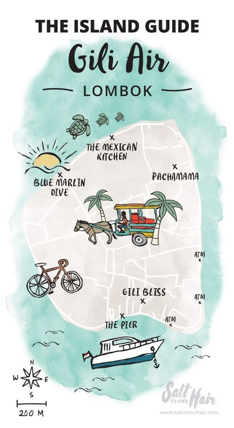 Guide to Gili Islands, Indonesia #wonderfulindonesia #indonesia #southeastasia #asia #asiatravel